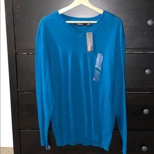 Cashmere Men's V Neck Sweater